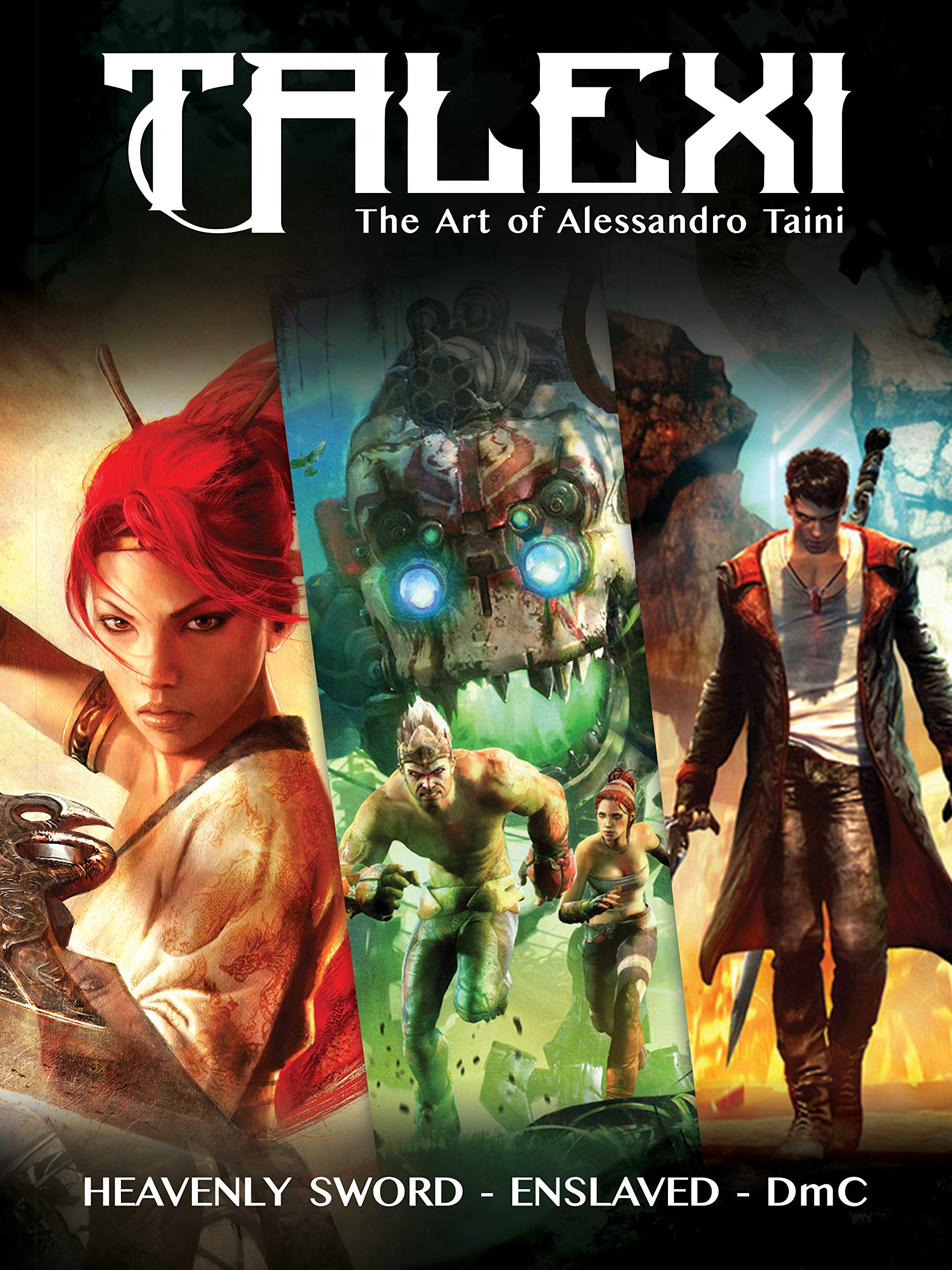 Amazon.com: Talexi - The Concept Art of Alessandro Taini ...