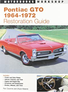 amazon com 1966 pontiac lemans tempest gto 11 x 17 color pontiac gto restoration guide 1964 1972 motorbooks workshop