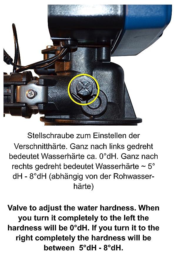 iwke 1500 descalcificación Anlage Agua nthärter Agua enthärtungs ...