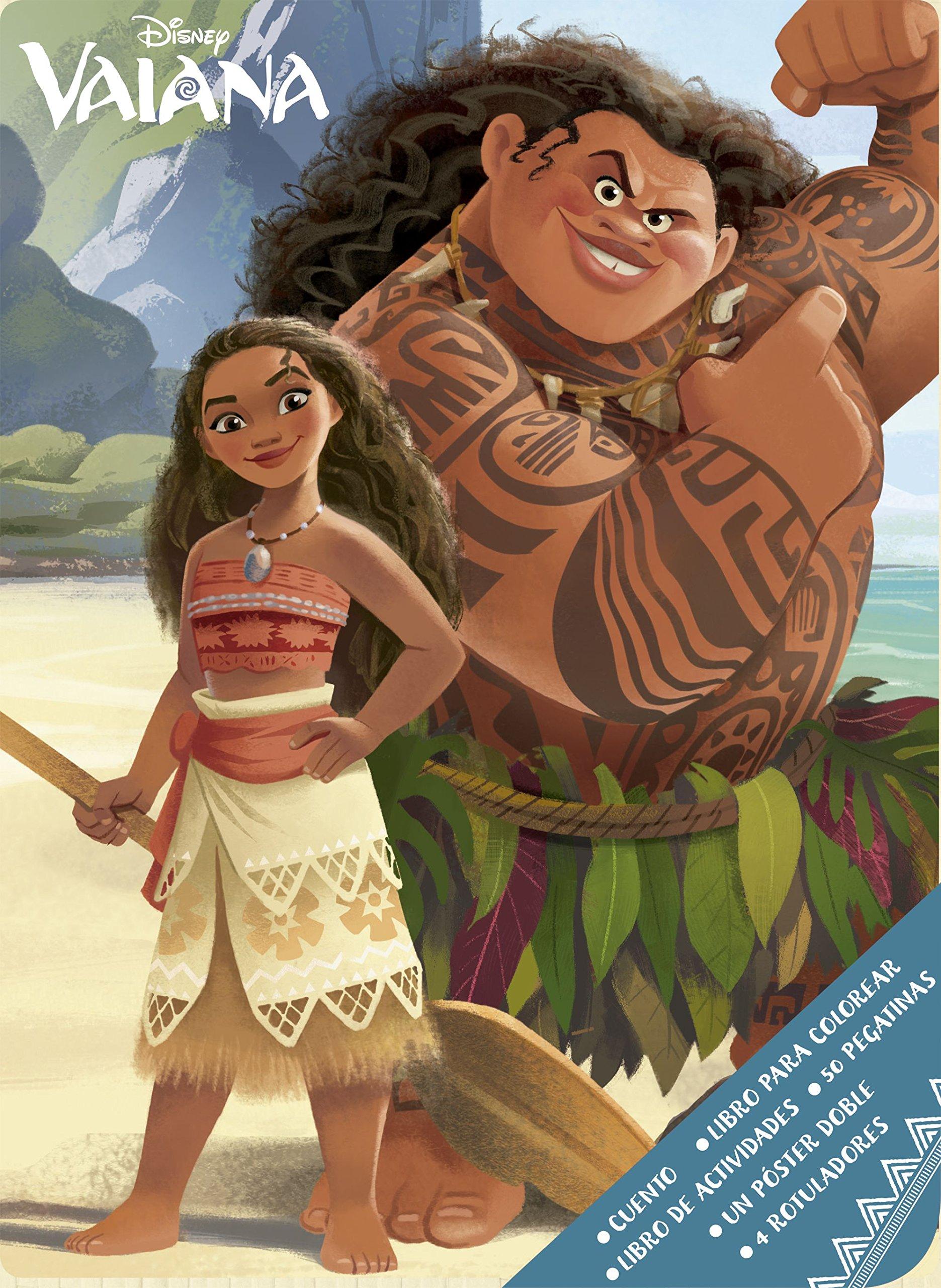 Vaiana. Caja metálica (Disney. Vaiana): Amazon.es: Disney, Editorial Planeta S. A.: Libros