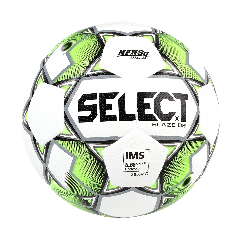 Select Blaze Db - Balón de fútbol, Color Blanco, Negro y Lima ...