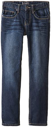 Amazon.com: Silver Jeans Big Boys' Nathan, Dark Wash, 12: Clothing