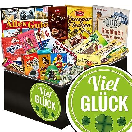 Viel Gluck Ost Schokolade Viel Gluck Geschenke Prufung Amazon