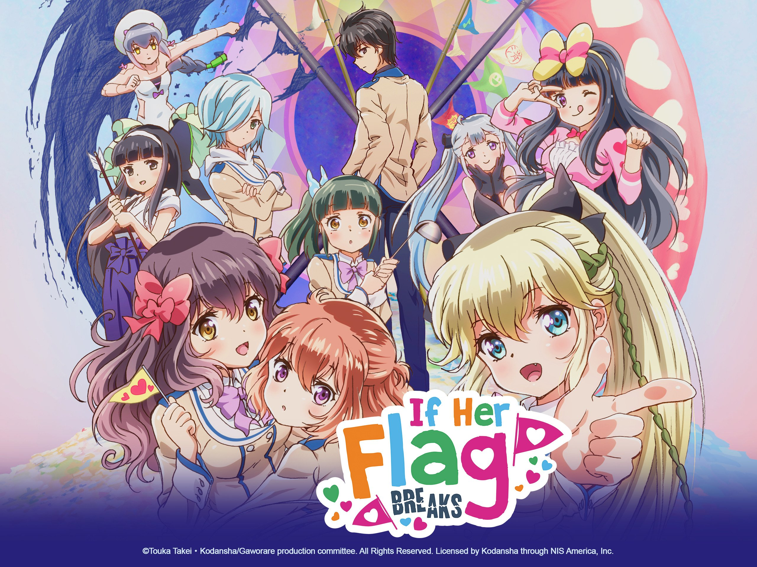 If Her Flag Breaks Manga