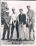 Vintage Photos 1961 Dick Sykes John Wadell Medalist Peter Giusti Golf Sports Hearst