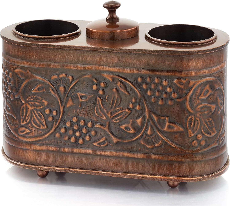 Old Dutch Antique Copper Heritage Two Bottle Wine Chiller