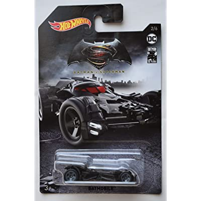 DieCast HOT Wheels 1:64 Scale Batman VS Superman Batmobile 2/6 80TH Years: Toys & Games
