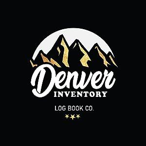 The Denver Inventory Log Book Company