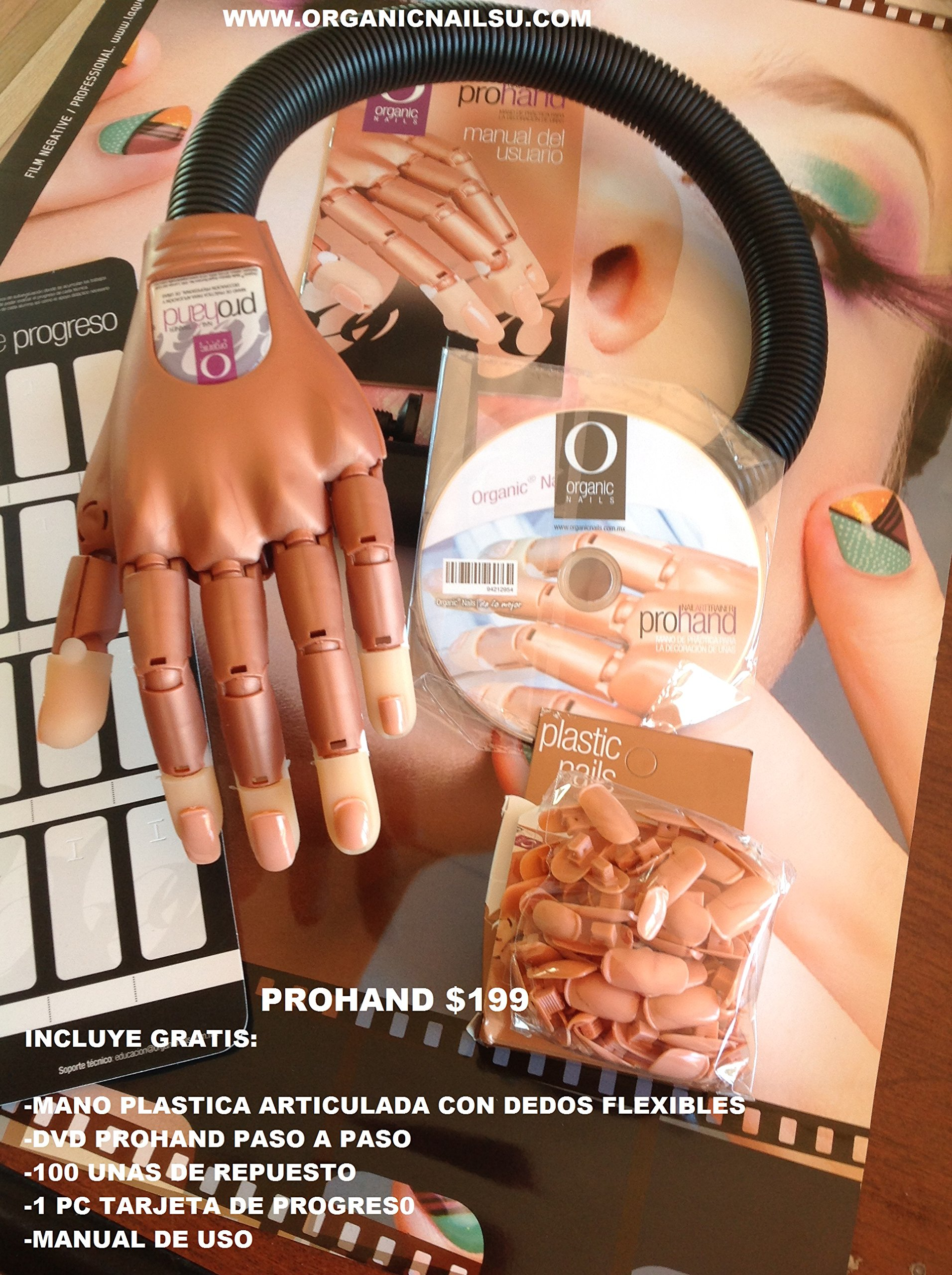 Prohand Free 100 Extra Nails/ Dvd and Cardex