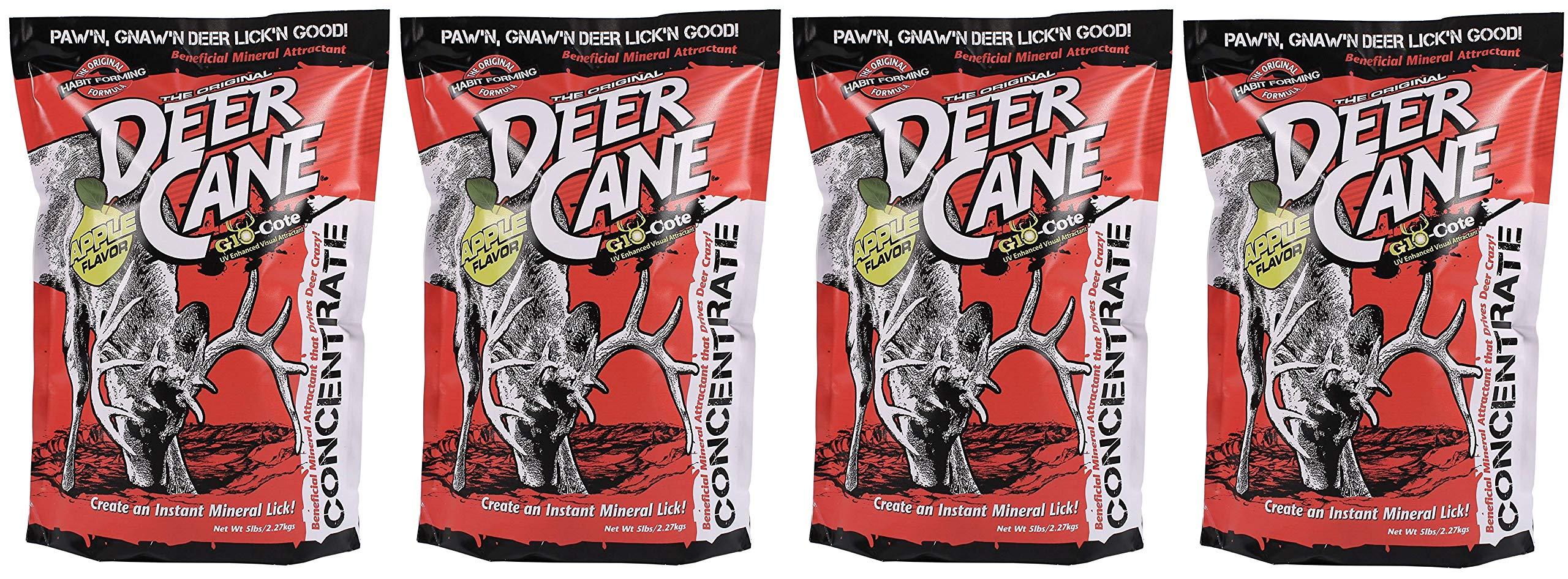 Evolved Habitat Deer Cane Apple UV Deer Attractant (Fоur Paсk)