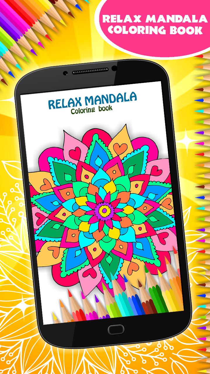 Libro de colorear de relax Mandala: Amazon.es: Appstore