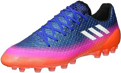 buy popular 4d219 04555 adidas Messi 16.1 Ag, pour les Chaussures de Formation de Football Homme  Bleu (Blu