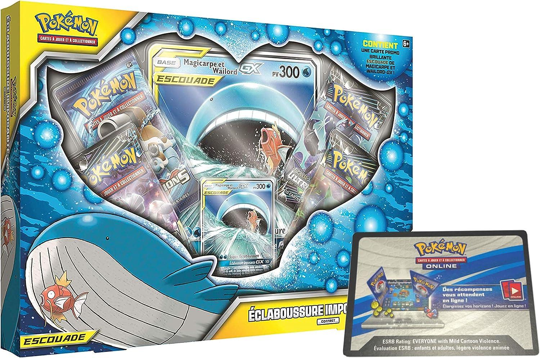 Carte /à Code Pokemon Online Le Jeu en Ligne Collection Pokemon /édition au Choix Coffret Dracaufeu GX