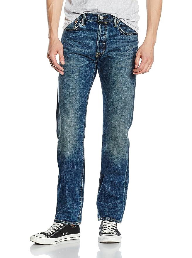 Jeans Droit - Femme, Bleu, FR : 36 (Longueur 33)Christoff