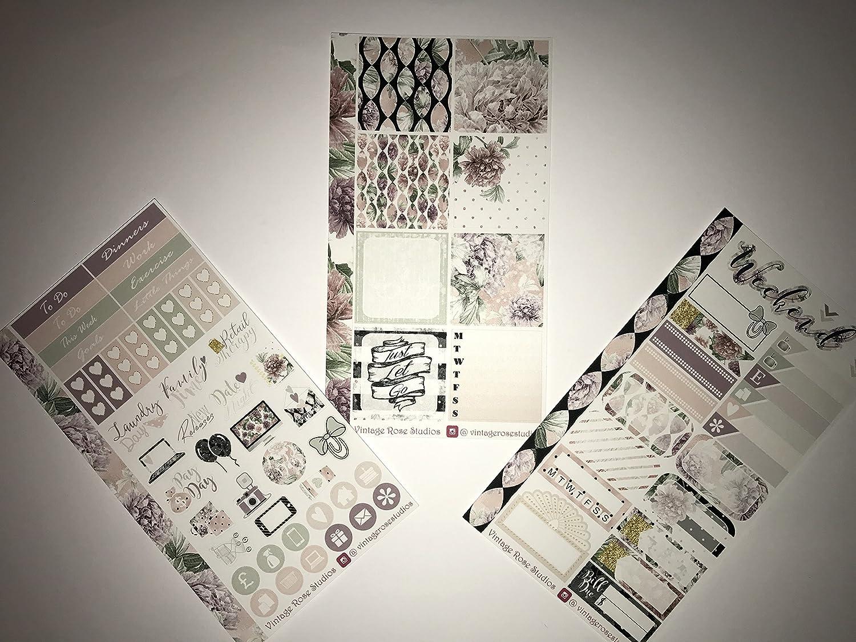 Ferme Personal Planner Kit pour Erin CONDREN Happy Planner sewmuchcrafting