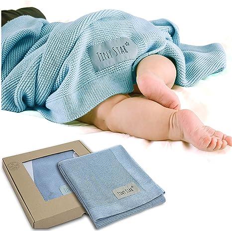 TINY STAR: Super suave Manta de bebé - Genial para el cochecito ...
