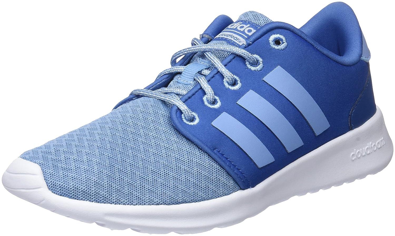 adidas CF QT Racer W, Zapatillas de Deporte Para Mujer 36 2/3 EU|Azul (Azretr / Azucen / Aeroaz 000)