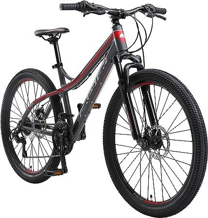 BIKESTAR Bicicleta de montaña Hardtail de Aluminio, 21 ...