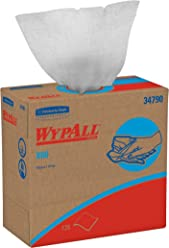 Wypall Delicate Surface Wiping Cloth, Pop-Up Style, White (126 Wipes, Pack of 1) 34790 X 60 by Kimberly-Clark