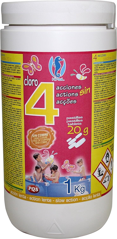 PQS – 167422 - Cloro en pastillas PQS 4 Acciones: Desinfección ...
