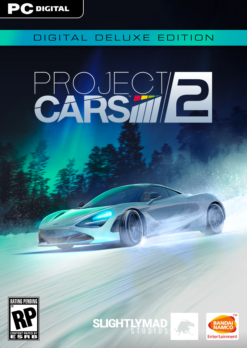 Project Cars 2 Digital Deluxe [Online Game Code] by Bandai