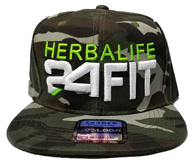 Image Unavailable. Image not available for. Color  Leader 3D Puff Herbalife  24FIT Snapback Hat ... 804f1ba3cfe7