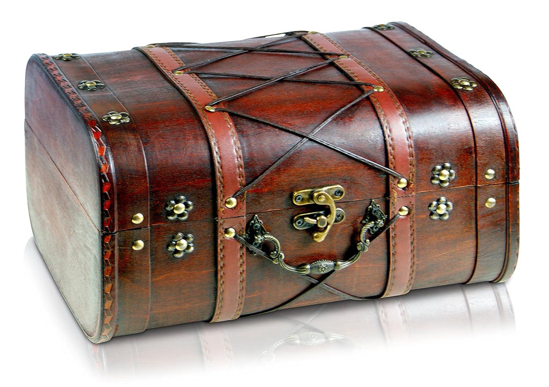 Brynnberg - Boîte de Rangement Coffre au Trésor - 32x26x20cm