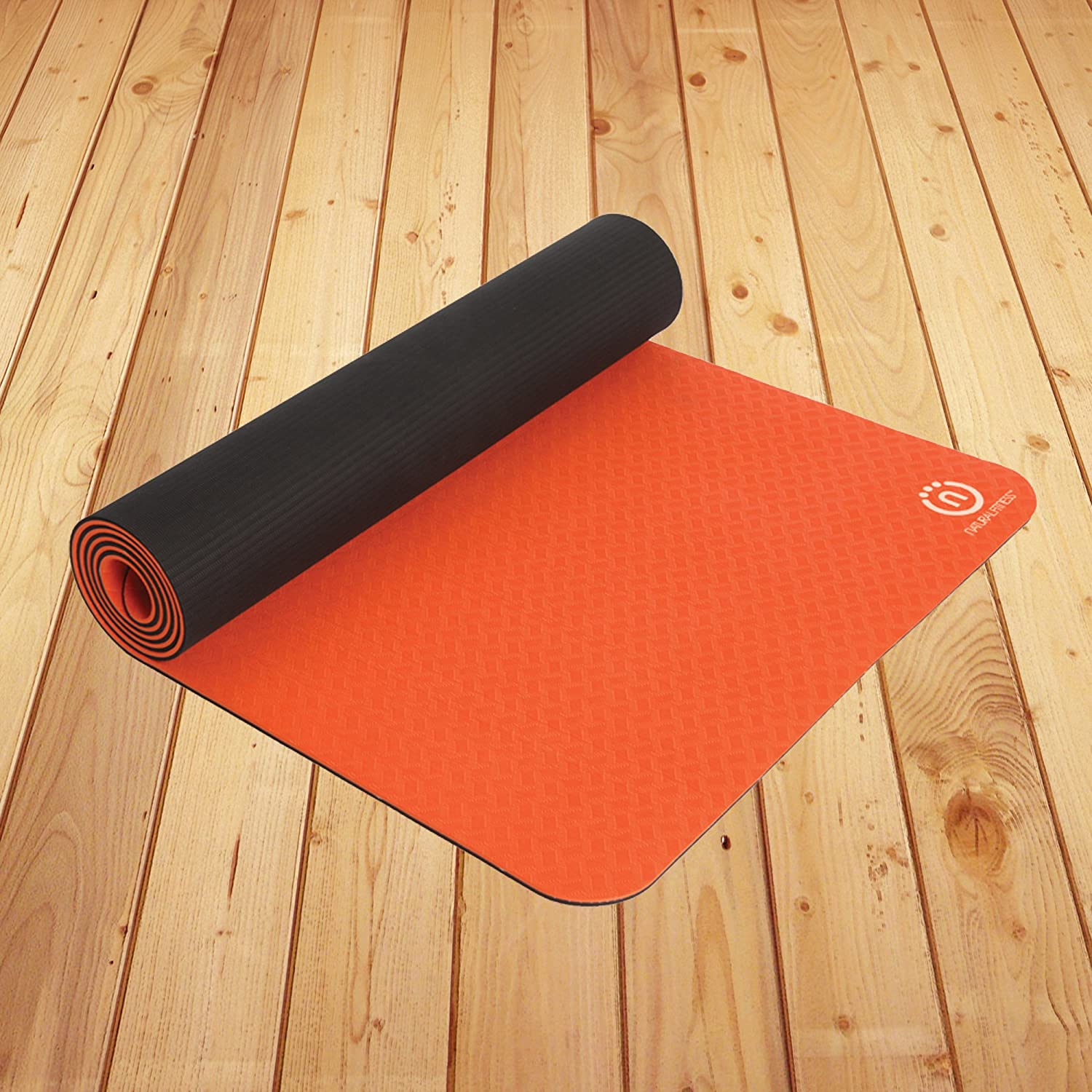 Amazon.com: Natural Fitness Powerhouse Pro Estera de Yoga ...