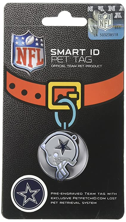 NFL Dog TAG - Dallas Cowboys Smart Pet Tracking Tag. - Best Retrieval  System for dc88e7305