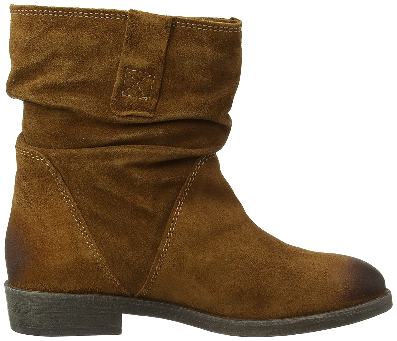 Tamaris 25476, Damen Kurzschaft Schlupfstiefel, Braun (Braun (Muscat 311)),  36 EU (3.5 Damen UK): Amazon.de: Schuhe & Handtaschen