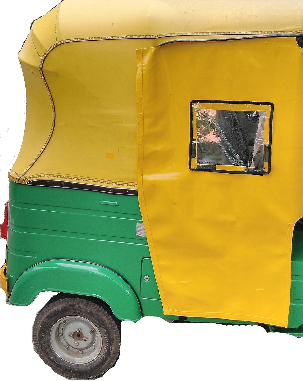 Minchu Auto Rickshaw Side Curtain For Bajaj Re And Compact Models