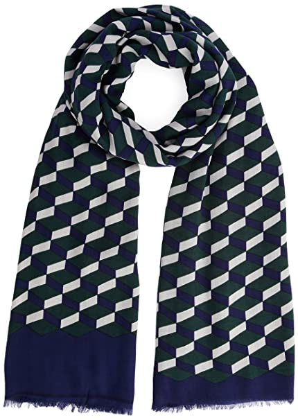 6fbd1fc72f United Colors of Benetton Geo Scarf-Sciarpa Donna