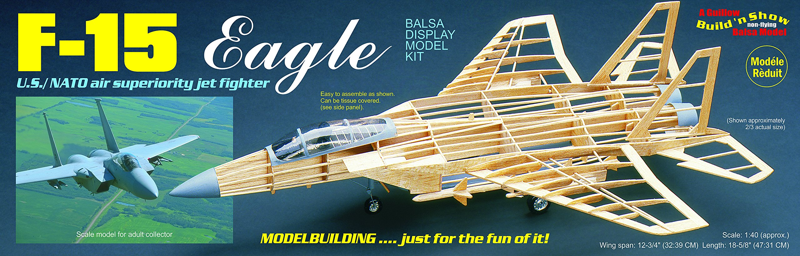 Guillow's F-15 Eagle Model Kit by Guillow