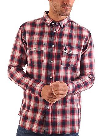 Lois Camisa Hombre Patagonia Mou Rojo L: Amazon.es: Ropa y accesorios