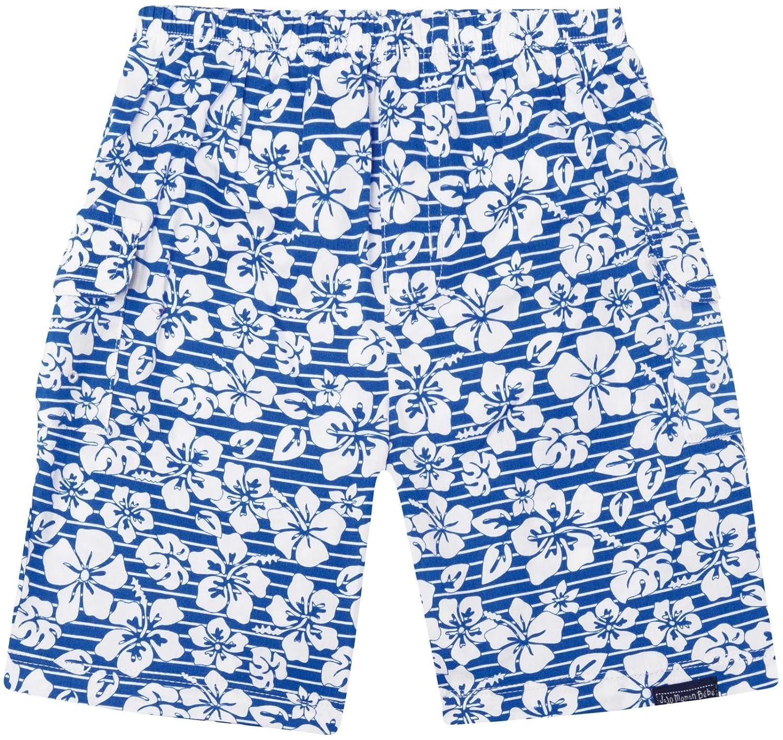 Blue Hawaiian-4-5 JoJo Maman Bebe Bermuda Shorts Toddler//Kid