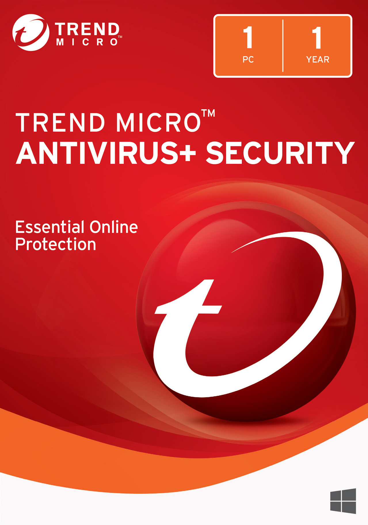 Trend Micro AntiVirus+ 2018 (1 Device) [Download] (Micro Download Trend)
