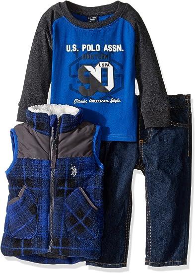 POLO ASSN Boys Classic Polar Fleece Jacket U.S