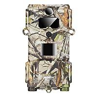 MINOX DTC 450 Slim Wild- und Überwachungskamera Camouflage – Extrem kompakte und Flache Tier-Beobachtungskamera – bis zu 12MP Bildaufnahmen, HD-Videoaufnahmen, Display-Bildwiedergabe
