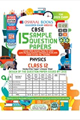 Oswaal CBSE Sample Question Paper Class 12 Physics Book (For March 2020 Exam) Paperback