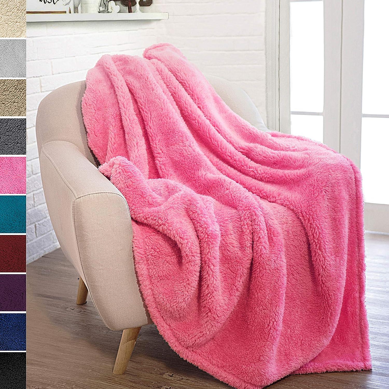 Solid Pink Blanket