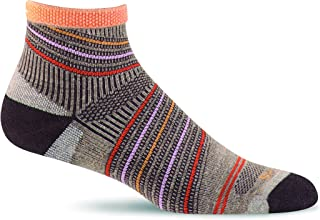 product image for Sockwell Summit Quarter sock with a Helicase Sock Ring
