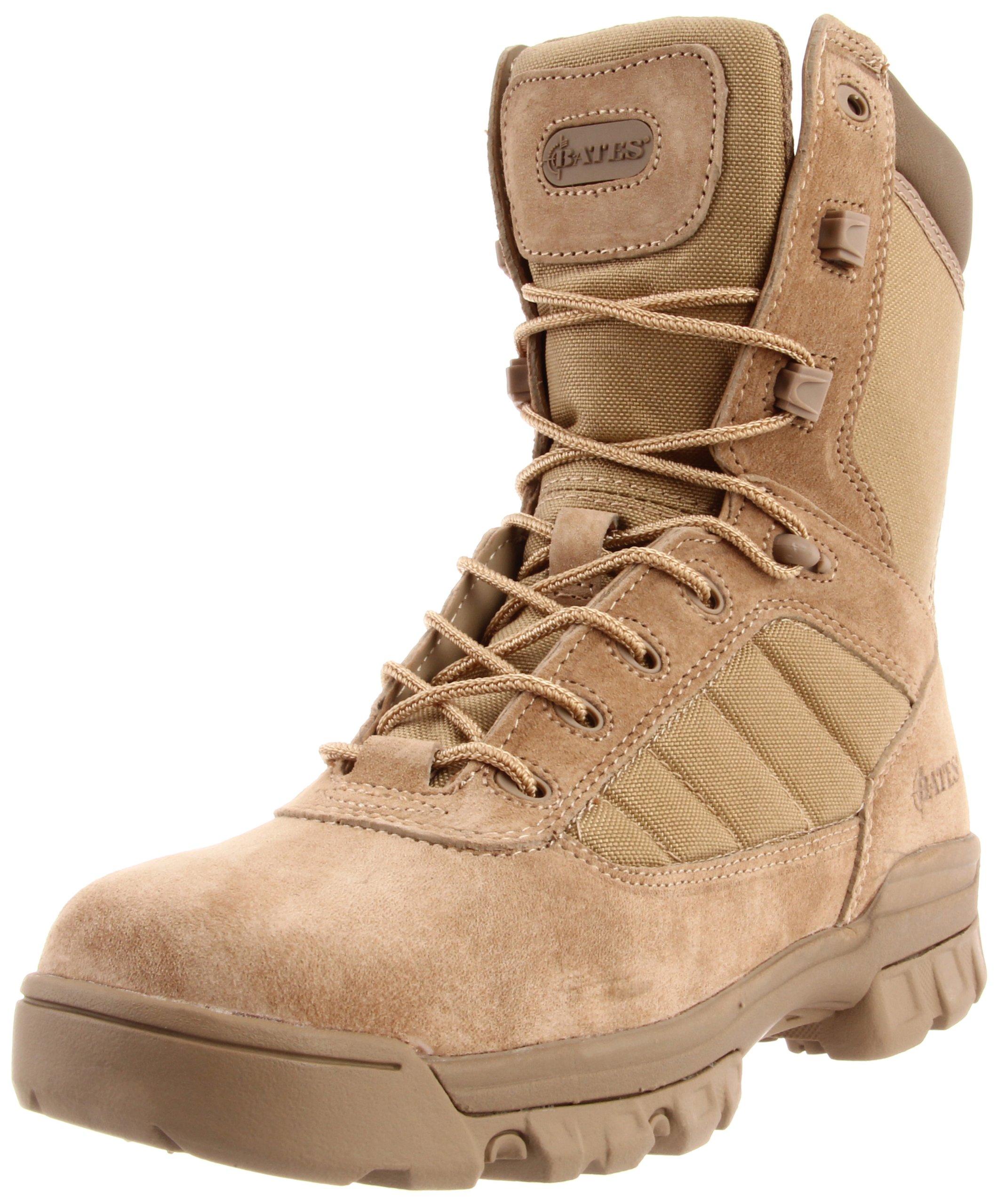 Bates Men's 8 Inch Uniform Boot, Desert, 15 M US
