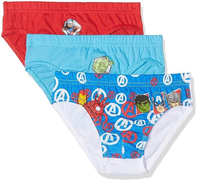 39219ee8a86c46 Marvel Avengers, Boxer Bambino, (Box3 16-4530TC), 2-3 Anni: Amazon.it:  Abbigliamento