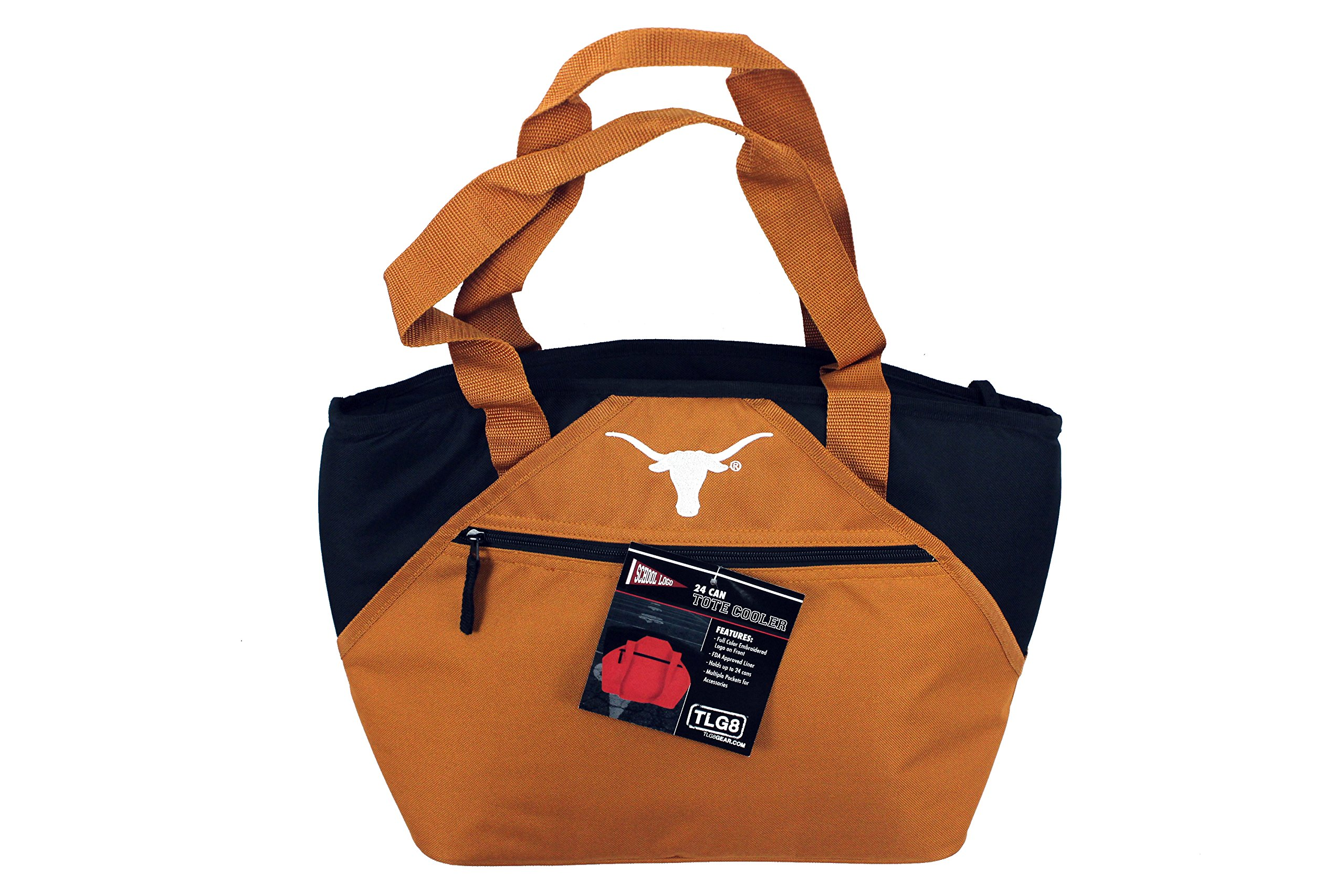 NCAA Texas Longhorns Licensed 24 Can Tote Bag Cooler