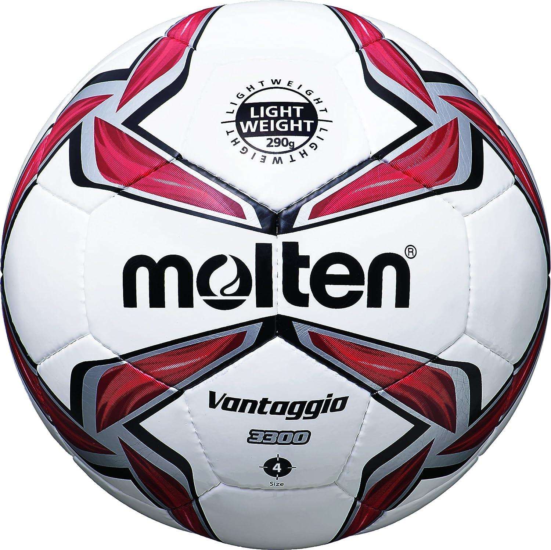 MOLTEN Fußball F4V3329-R - Balón de fútbol, Color Multicolor (weiß ...