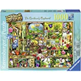 Ravensburger The Curious Cupboard No.3 - The Gardener's Cupboard, 1000pc Jigsaw Puzzle