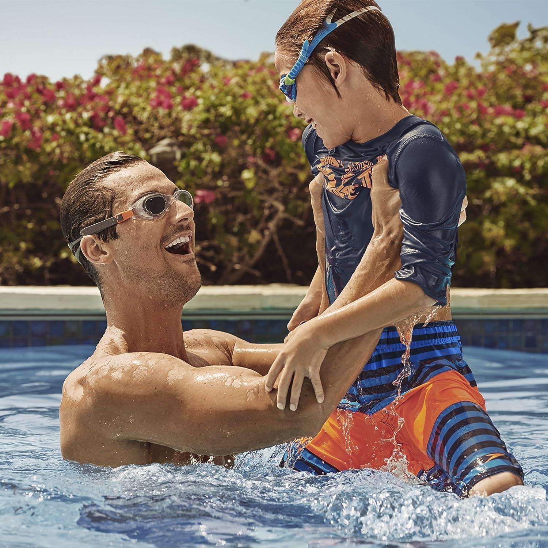 Speedo Hydrospex Classic Swim Goggle, Clear,