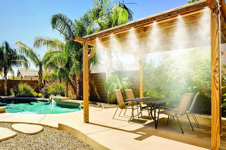 Amazon.com: MistyMate 16021 Cool Patio 20 Deluxe Outdoor Misting Kit:  Garden U0026 Outdoor