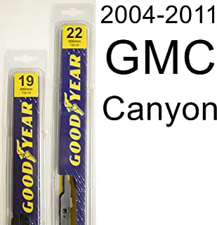 "product image for GMC Canyon (2004-2011) Wiper Blade Kit - Set Includes 22"" (Driver Side), 19"" (Passenger Side) (2 Blades Total)"