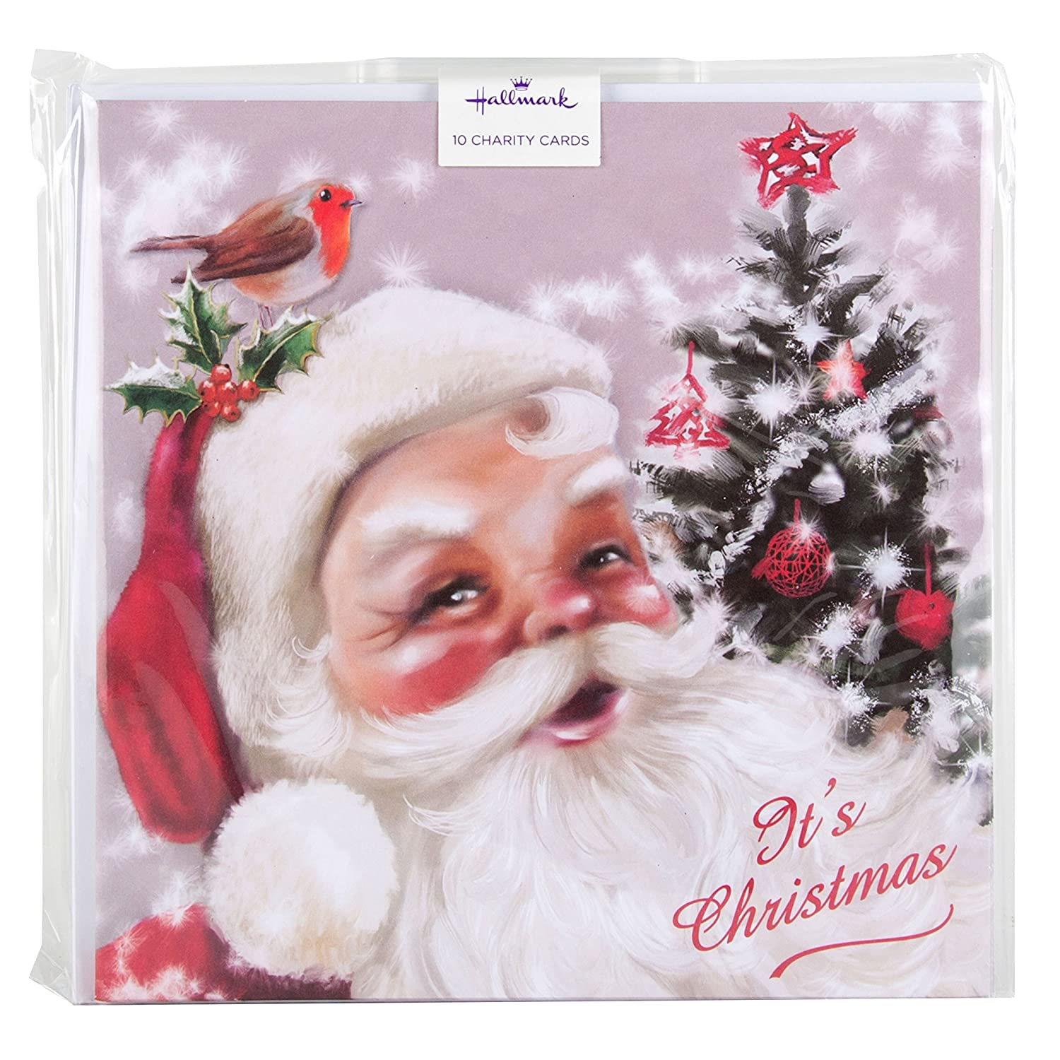 Friend Hallmark Traditional Luxury New Christmas Greeting Card /'Smiles/' Large